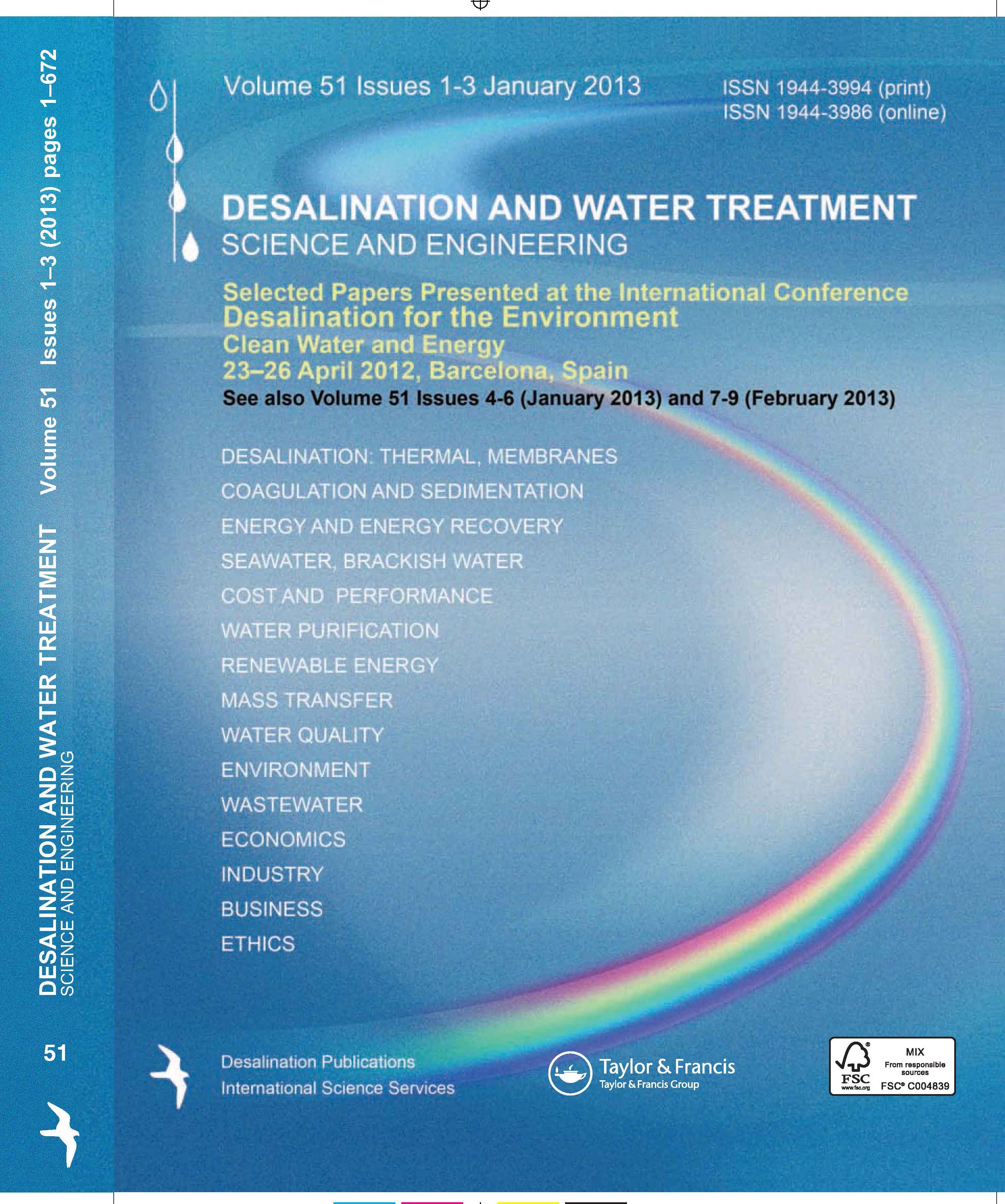 water desalination cost literature review and As water resources are rapidly being exhausted, more and more interest is paid to the desalination of seawater and brackish water concentrations.